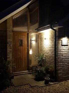Front door night 2